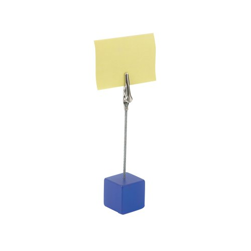 Тримач для паперу пластмасовий (синій)