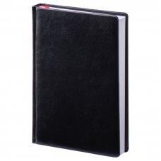 Щоденник датований А5, блок кремовий, Небраска, колір чорний