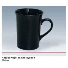 """Чашка """"Лілія"""" чорна"""