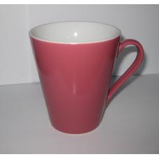 """Чашка """"Піраміда"""" біло-рожева"""