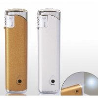 Запальничка P-03 Slim LED (срібло)
